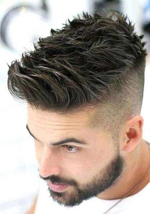 Short Modern Mohawk Hairstyles For Guys 2021
