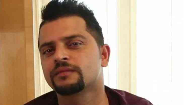 Suresh Raina New Hairstyle 2019 With French Spikes