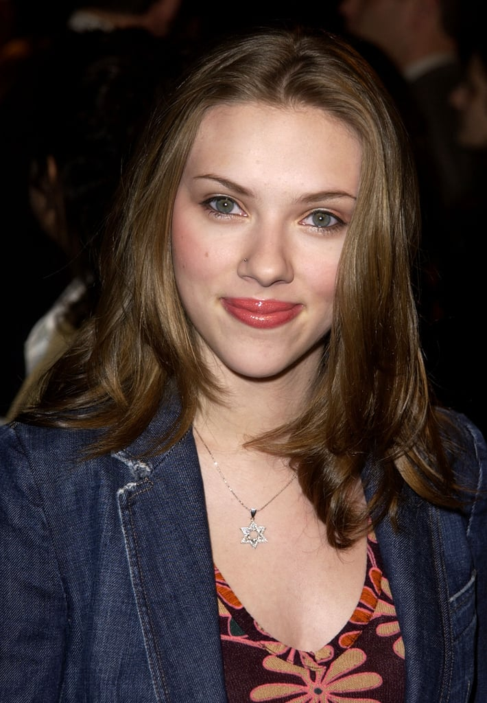 Scarlett Johansson haircut 2020 and natural hair color 2