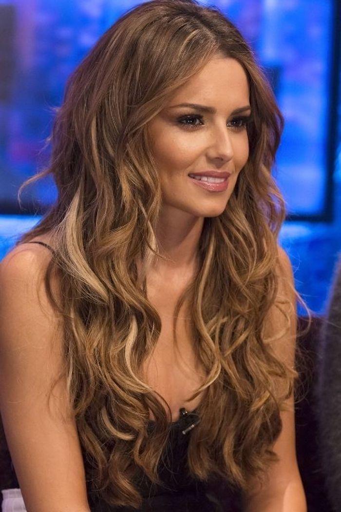 Cheryl Cole Long Loose Curls: