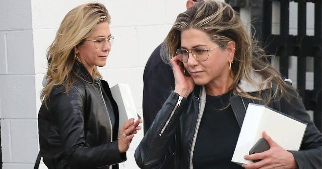 Jennifer Aniston New Haircut 2018 With Glasses