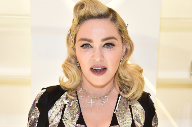 Madonna New Hairstyle 2018
