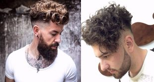 Pompadour Hairstyle 2019 For Curly Hair