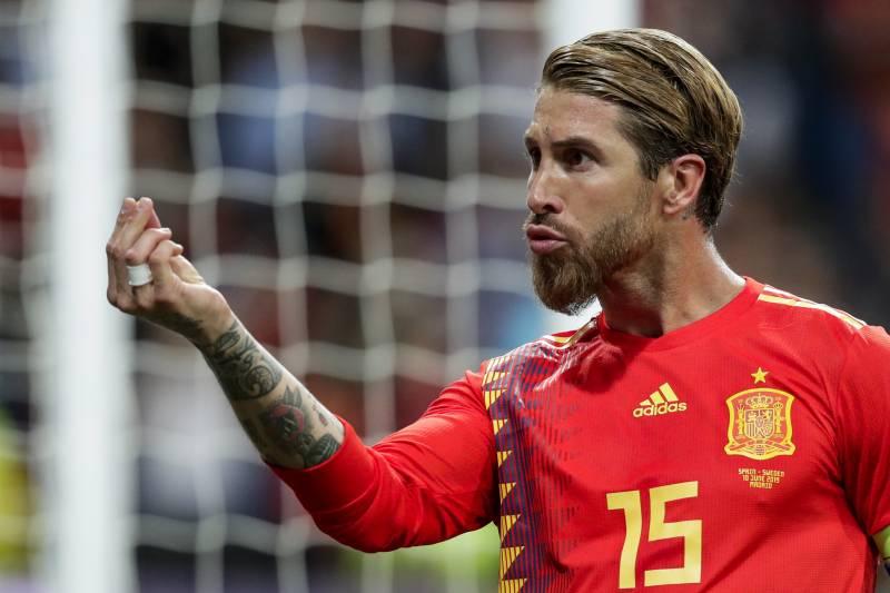 Sergio Ramos New Haircut And Hairstyle 2020