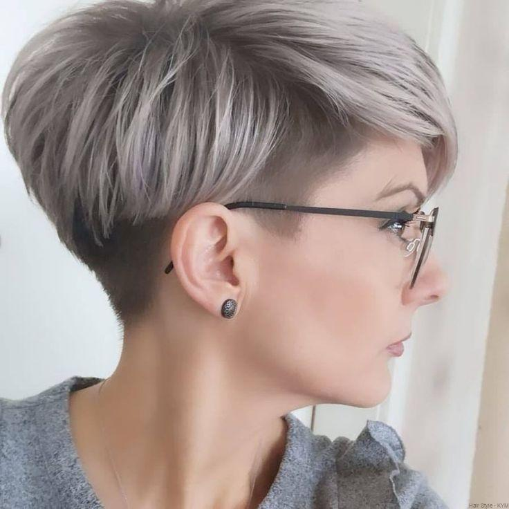 Super Short Haircuts For Over 50 Years Old Women 2020