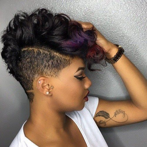 African American Long Hairstyles 2020 Undercut hairstyle