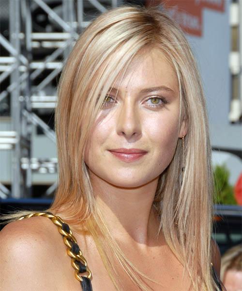 Maria Sharapova Popular Hairstyle: