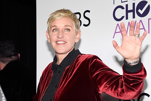 Ellen Degeneres short hair