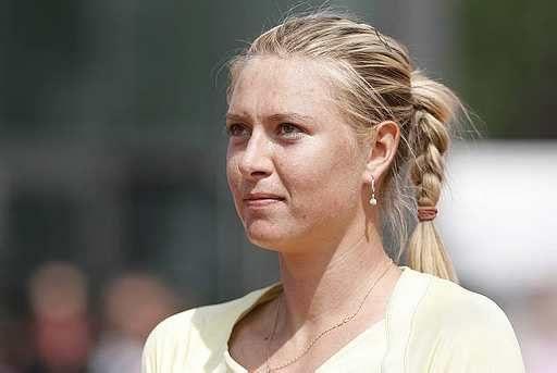Maria Sharapova Hairstyle Plaited braided
