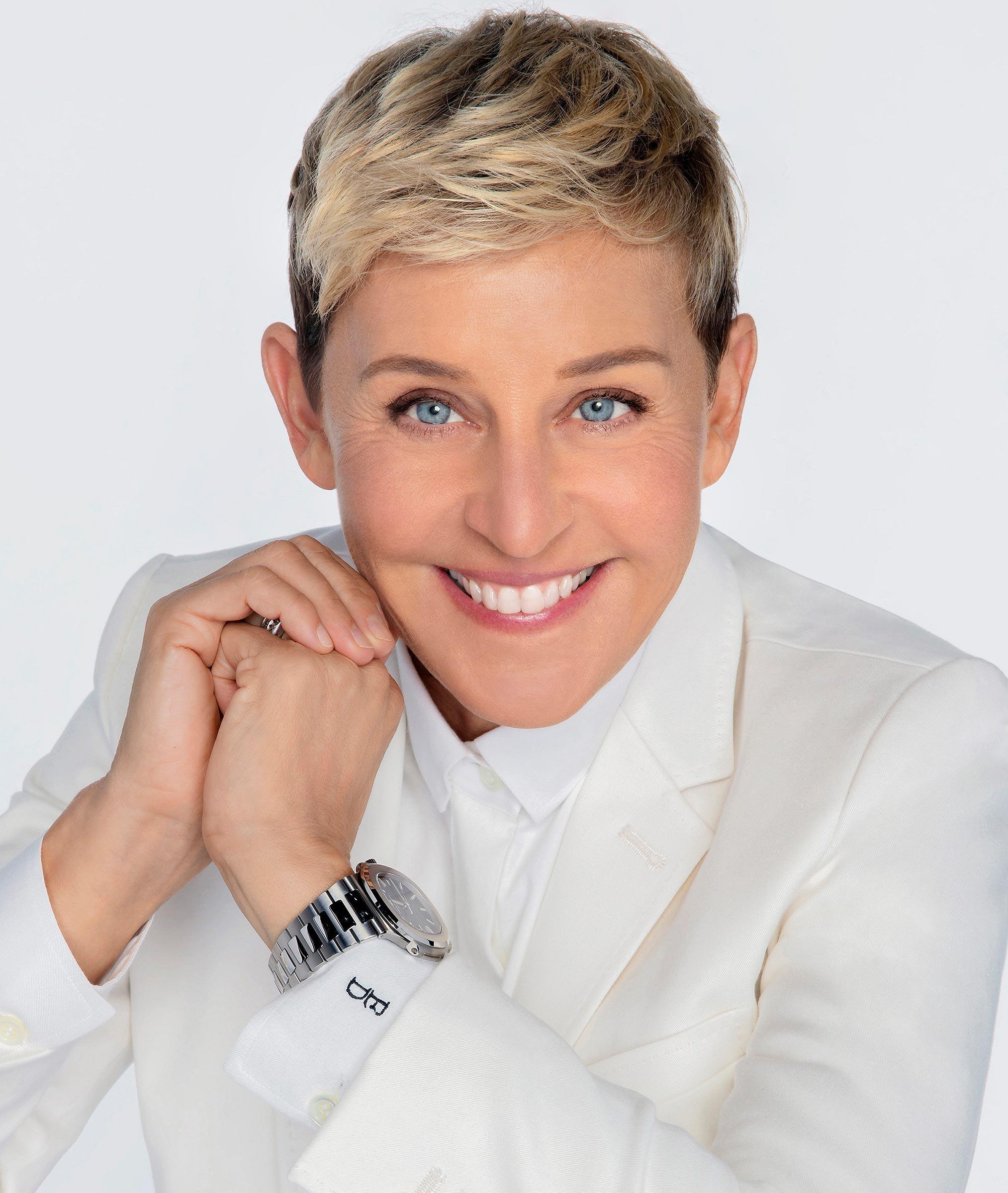 Ellen Degeneres Haircut New 2020