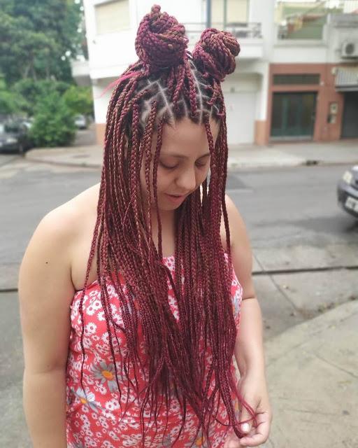 African American Dreadlocks Hairstyles 2020 With Updo Bun