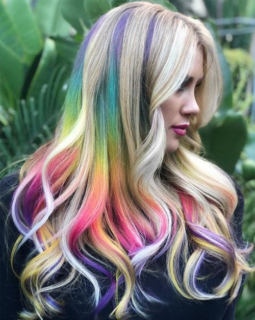 Funky Hair Color Ideas For Long Hair 2020