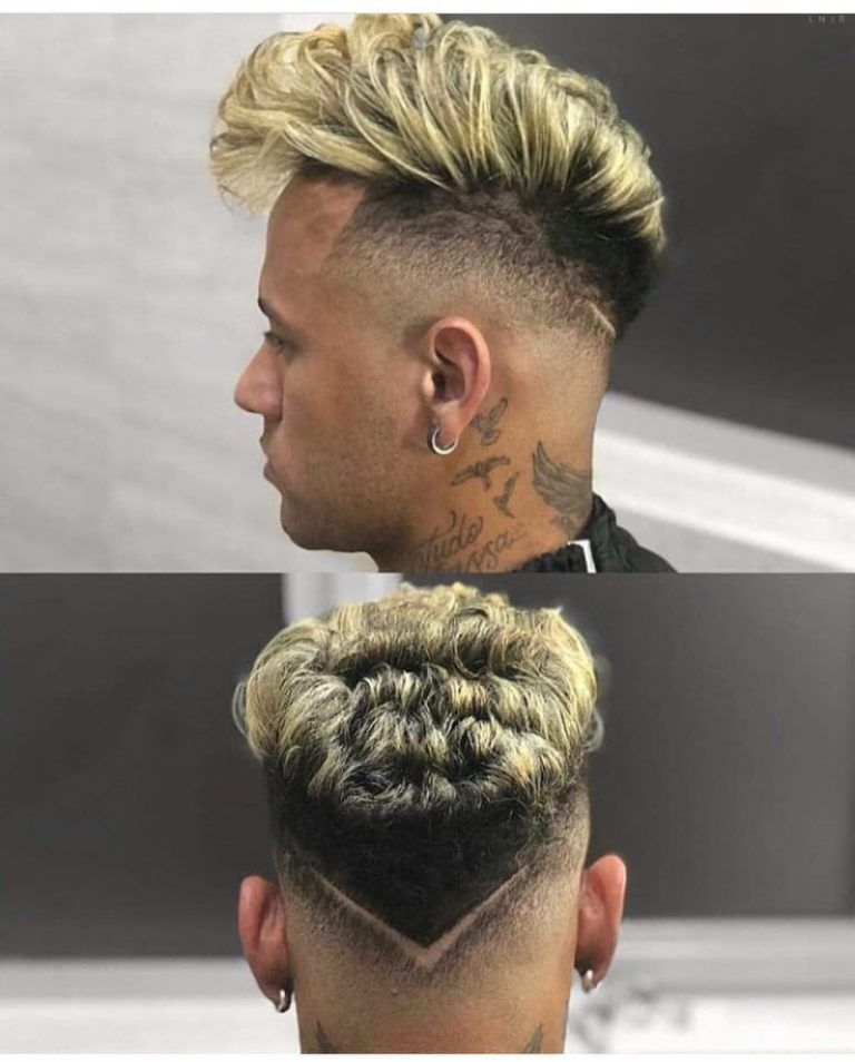 Neymar Haircut 2019 Side View, Hairstyle Name