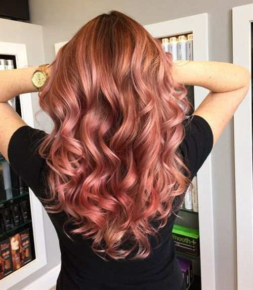 Strawberry Blonde Hair Color Trend 2018