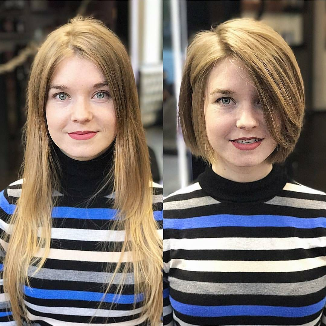Long Bob Hairstyles For Round Faces 2020 Pictures