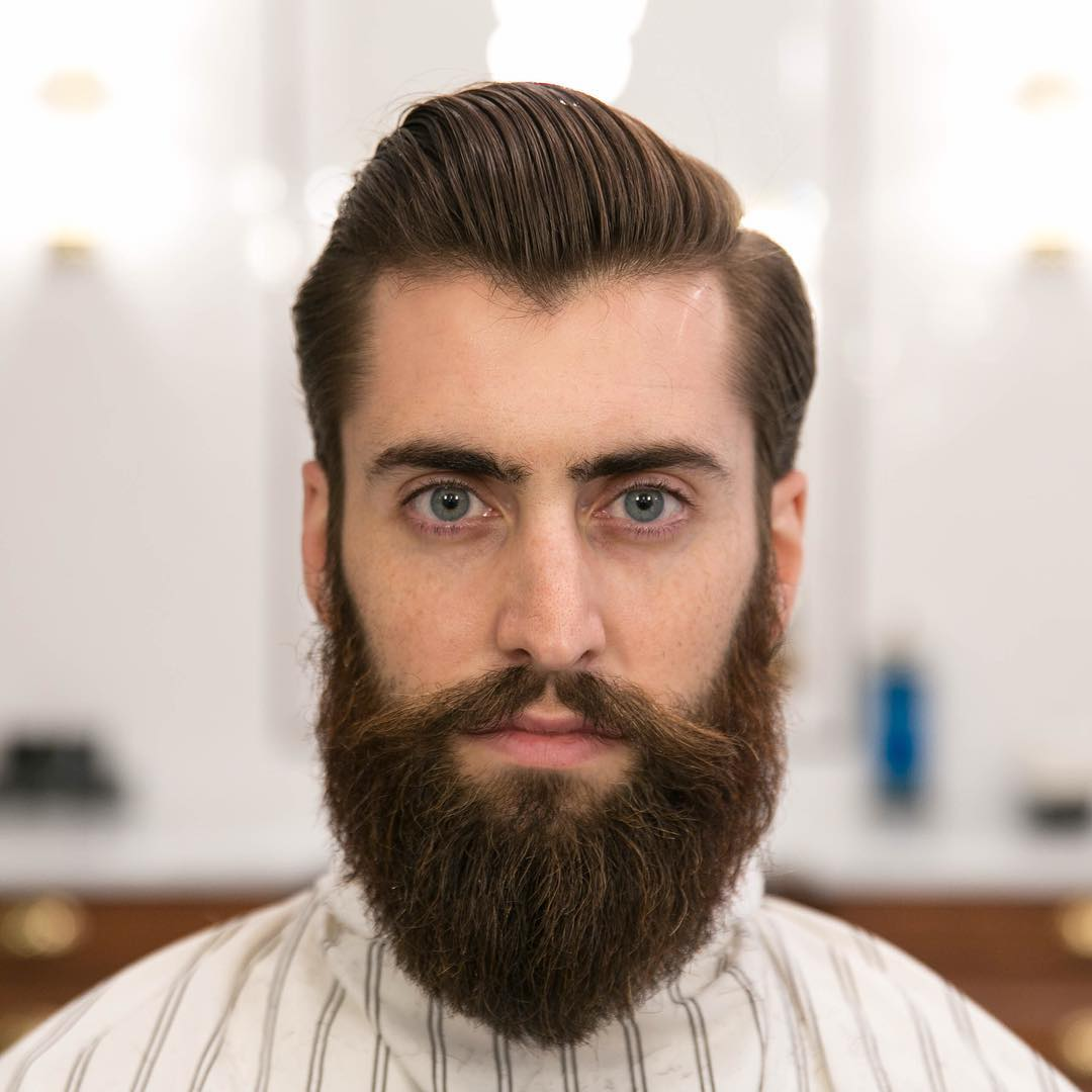 Boys Hairstyle With Beard 2019