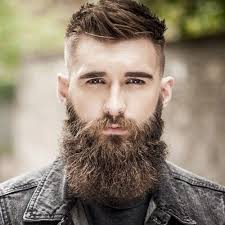 Men's Hairstyle With Beard 2019 Messy Hairs