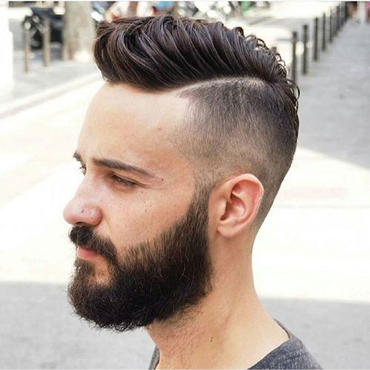 Men's Hairstyle With Beard 2019 Short Length