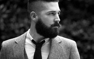 Men's Hairstyle With Beard 2021