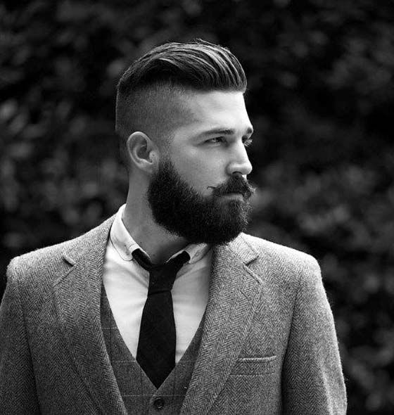 Men's Hairstyle With Beard 2019 With Moustache