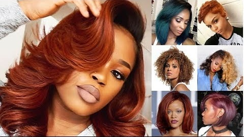 African American Hair Color Highlights 2019